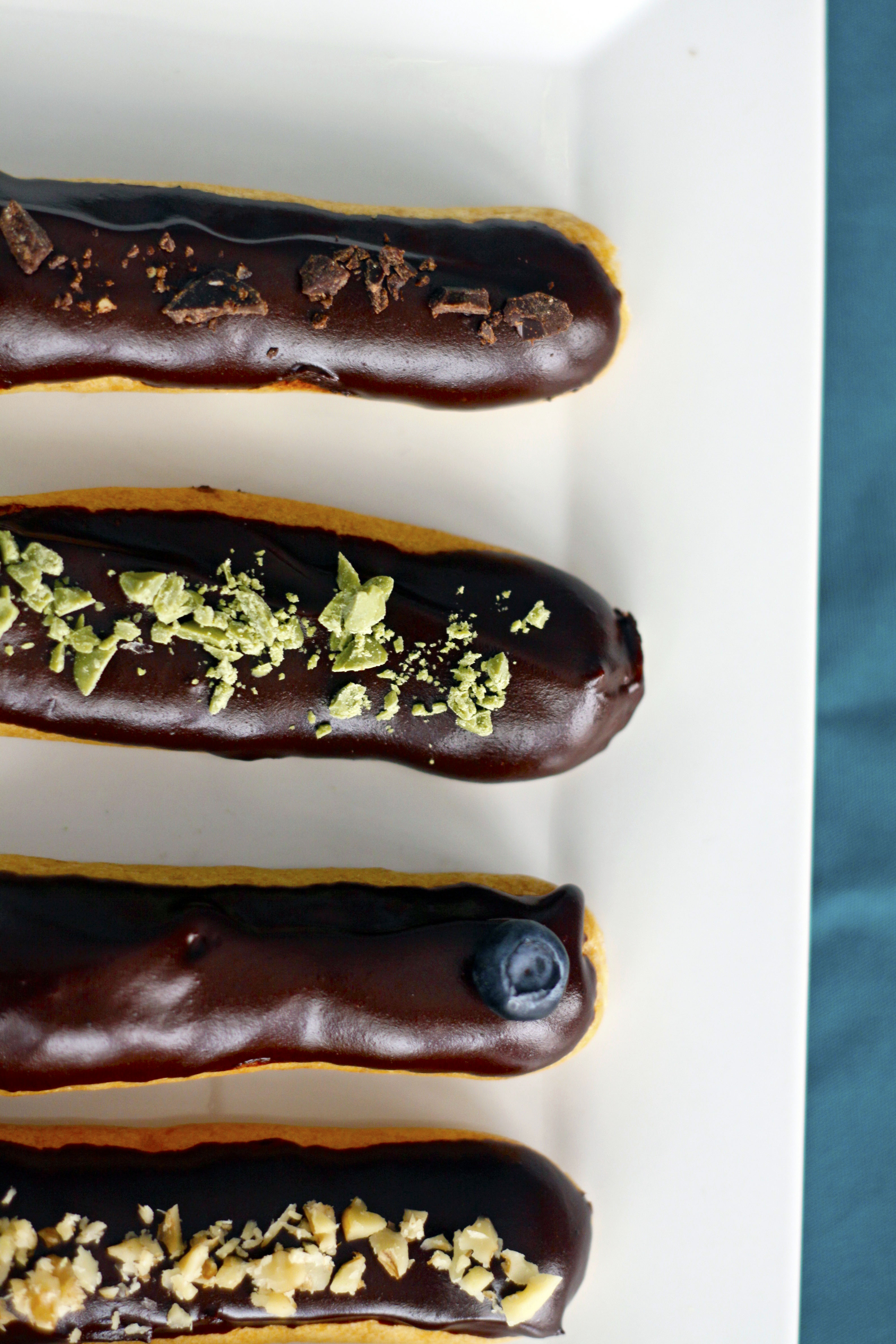 eclairs p 226 te 224 choux simplydelicious